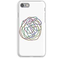 Rainbow Yarn Tangle iPhone Case/Skin