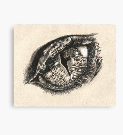 The Eye of Smaug Canvas Print