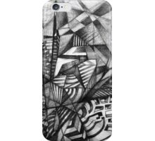 View From a High Scape Building. iPhone Case/Skin