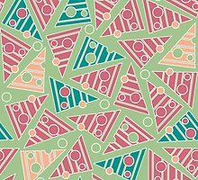 Pattern with colored triangles by alijun