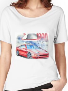 Nissan 300zx Classic Car Illustration Women's Relaxed Fit T-Shirt