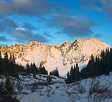 Snowy Mayflower Gulch by Paul Gana