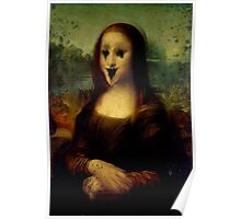 Haunted Mona Lisa Poster