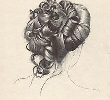 Victorian Updo by EnigmaticDoodle