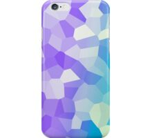 Glowing Gradient - Purple and Blue iPhone Case/Skin