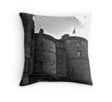 Skipton Castle Throw Pillow