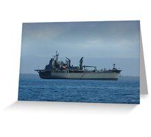 HMAS Sirius (0 266) Greeting Card