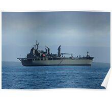 HMAS Sirius (0 266) Poster