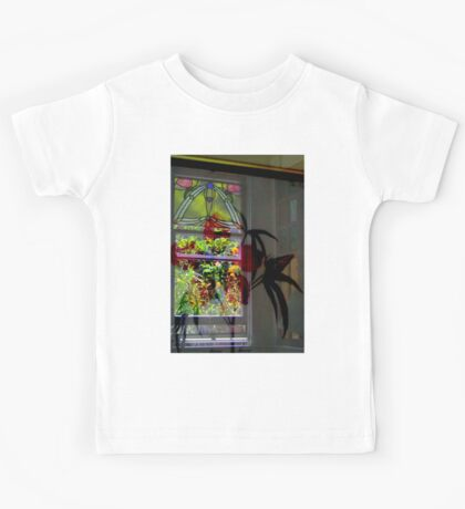 Stained Glass And Botanica Kids Tee