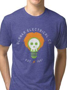 Blanka Electrical Co. Tri-blend T-Shirt