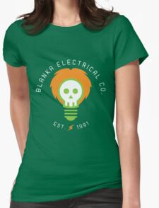 Blanka Electrical Co. Womens Fitted T-Shirt