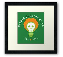 Blanka Electrical Co. Framed Print