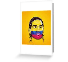 Falcao Colombia Greeting Card