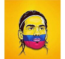 Falcao Colombia Photographic Print