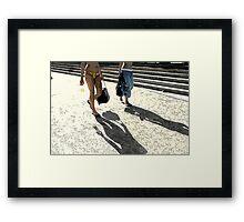 bondi shadowmaker Framed Print