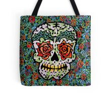 'Sweet Sugar Skull #1 Tote Bag