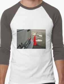 Caution DAEHA - Isuzu DIESEL 2U Men's Baseball ¾ T-Shirt