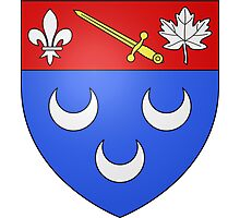 Blainville Coat of Arms Photographic Print
