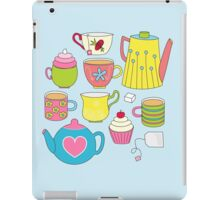 Teapots, cupcakes & more iPad Case/Skin