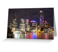 Brisbane CBD from Kangaroo Point 7 Greeting Card