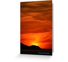 Sunset   Miller Place, New York  Greeting Card