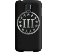 III%, Three percenter Samsung Galaxy Case/Skin