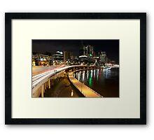Riverside Expressway Framed Print
