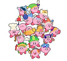 Kirbys!  by Feefles