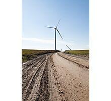 wind mill Photographic Print