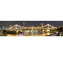 Story Bridge Panorama 1 Photographic Print