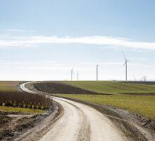 wind mill by Artur Mroszczyk