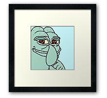 Pepe Tentickles Framed Print