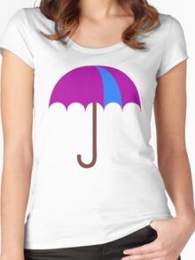 Bright Umbrella Women's Fitted Scoop T-Shirt