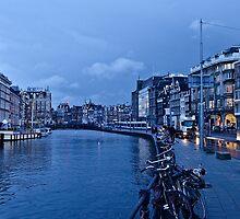 Amsterdan skyline by GalbaSandras
