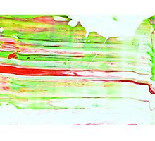 Abstraktes Bild 49 Photographic Print
