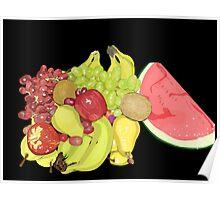 Fruit Platter Deluxe Poster