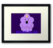 Lumpy Space Princess Framed Print