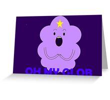 Lumpy Space Princess Greeting Card
