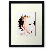 Baby Zoe Framed Print