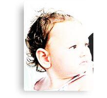 Baby Zoe Metal Print