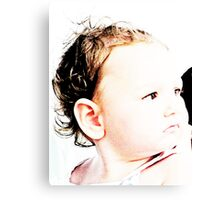 Baby Zoe Canvas Print
