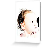 Baby Zoe Greeting Card