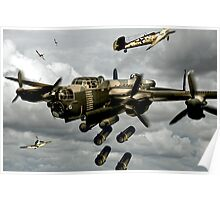 Flying Bomber Poster