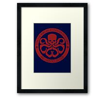 Hail SHIELD Framed Print