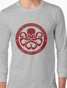 Hail SHIELD Long Sleeve T-Shirt