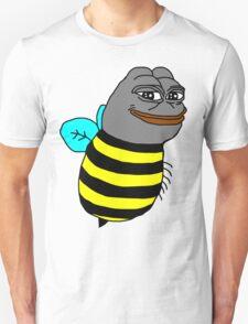 Smug Pepe Frog Bee T-Shirt