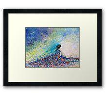 Being a Woman #5 (In a daydream) Framed Print
