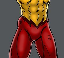 Kid Flash - Groin by twogargs