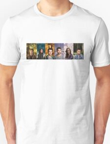 Teen Wolf Cast Into The Woods T-Shirt