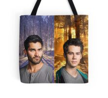 Sterek Into The Woods Tote Bag
